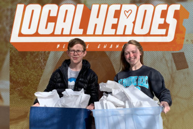 #LOCAL HEROES: Ashlyn & Colton Wolfe