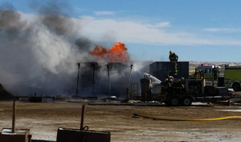 Tank Fire Near Wamsutter Extinguished