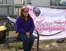 Walnut Elementary School Secretary Honored With Retirement Parade