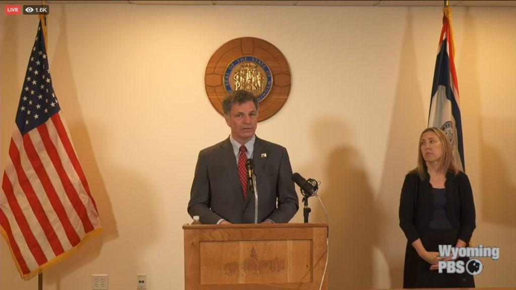Governor Gordon Calls for Special Legislative Session to Address COVID-19