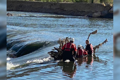 Green River Fire Department Rescues Woman from Green River