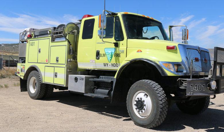 BLM to Conduct 2 Prescribed Fires near La Barge