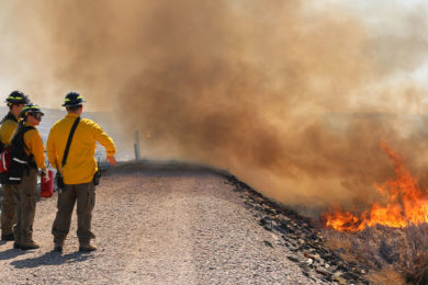 Firefighters Use Prescribed Burn Exercise for Training