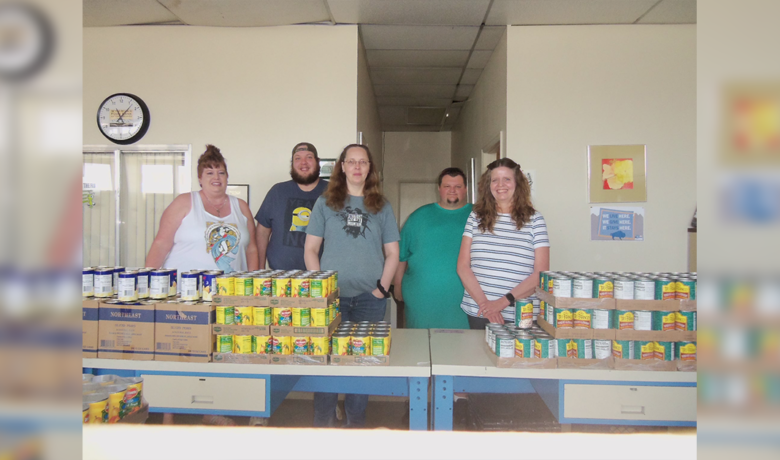 All West Communications Donates $3,000 to Food Bank of Sweetwater County