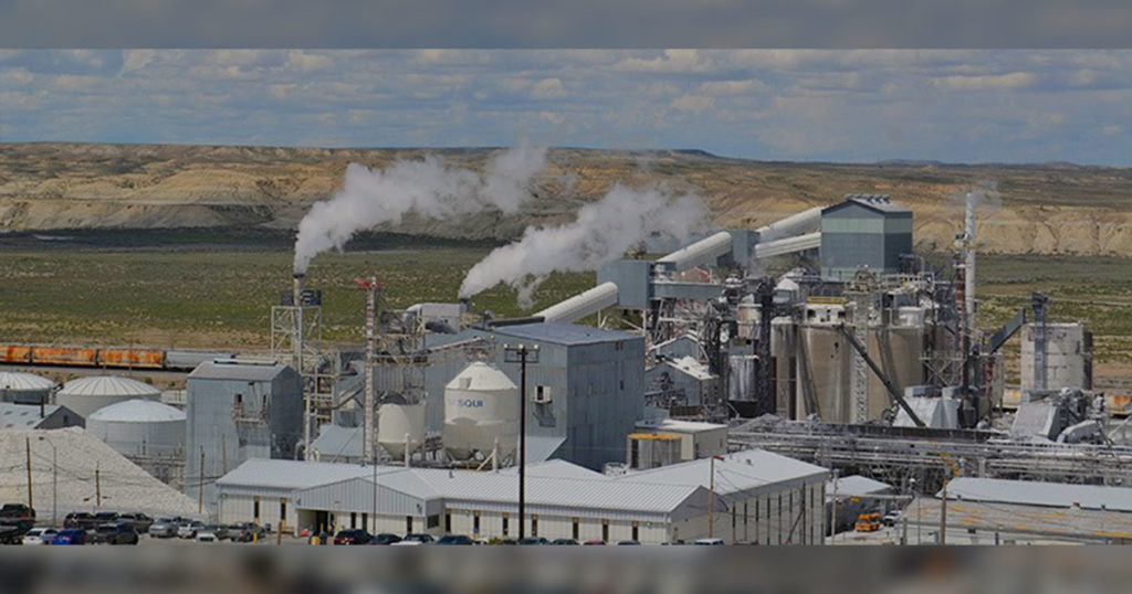 Genesis Alkali Temporarily Closes Granger Facility, Plans to Reopen When Market Improves