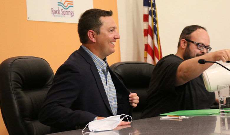 Ryan Greene Appointed to Fill Rock Springs Council Ward 3 Seat
