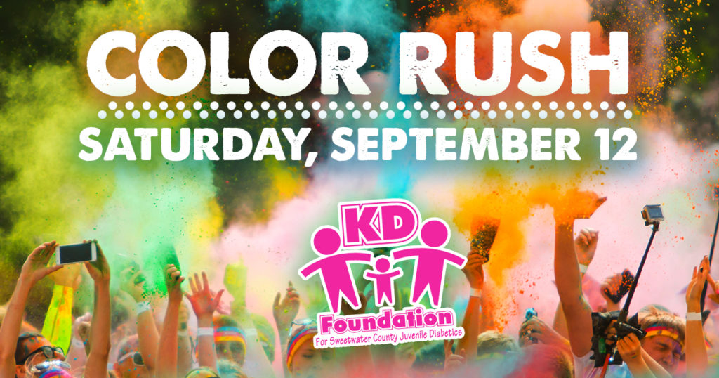 Register for the 13th Annual KD Foundation Color Rush Fundraiser!