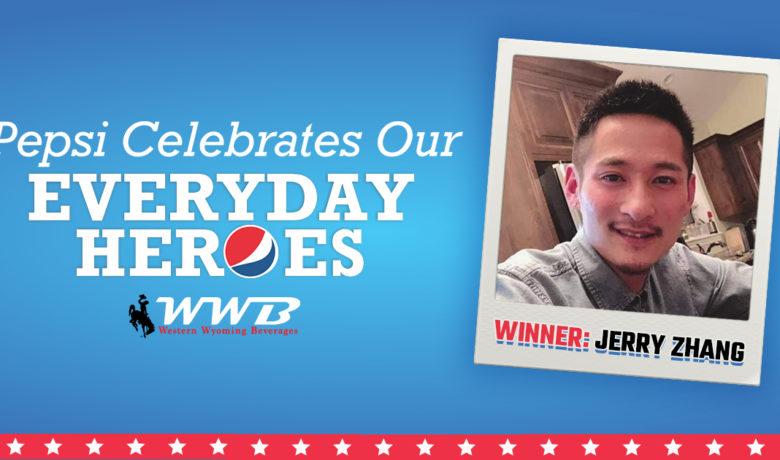 #EverydayHeroes Winner: Jerry Zhang