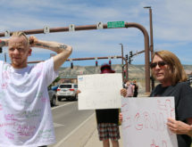Peaceful Protest for George Floyd and Police Start in Rock Springs