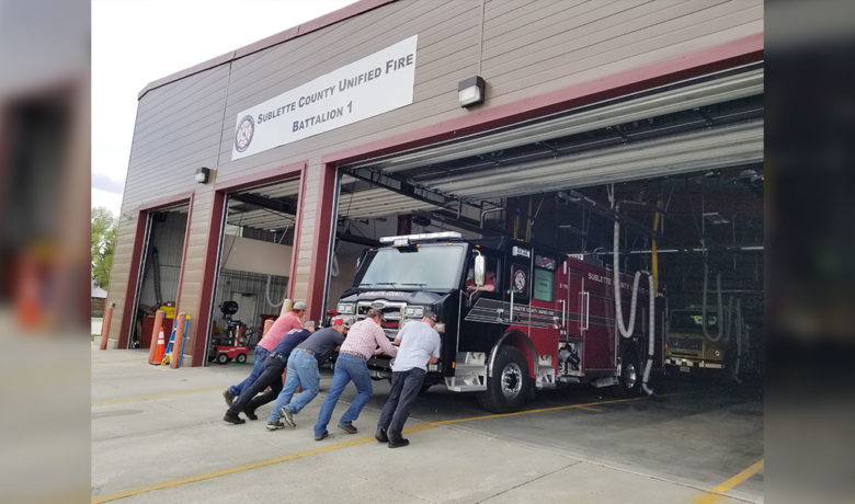 Grant Helps Sublette County Unified Fire Purchase New Fire Truck