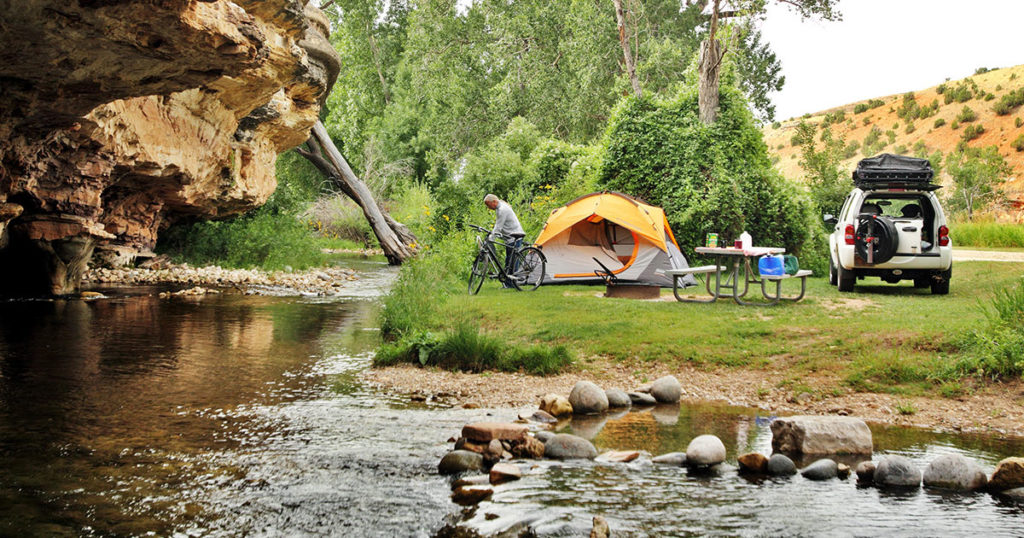 Wyoming State Parks Reopen Camping to Non-Residents