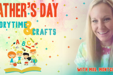 Father's Day Story Time and Crafts for Kids