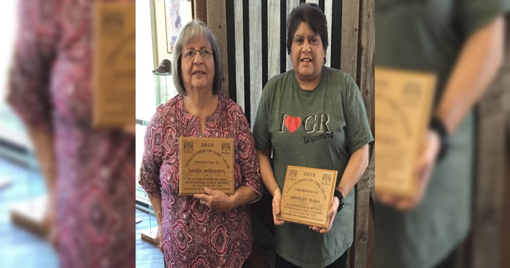 Green River Chamber Announces Volunteers of the Year