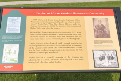 New Historical Marker Near Wheatland Recognizes African American Homesteaders