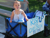 "Community Supports Worldwide ""Rise Up For Children"" Day"