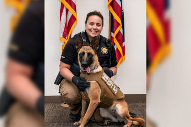 Body Armor Given to Sweetwater County Sheriff's Office K-9