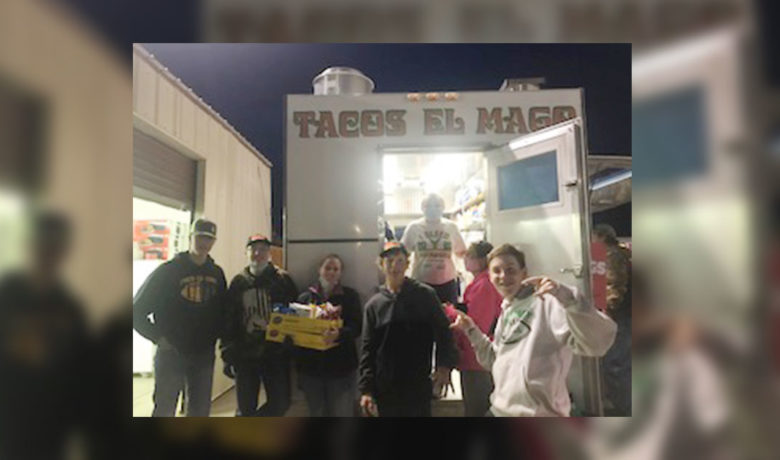 Farson Eden High School Students Raise Money for School