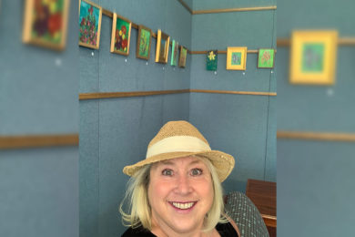 White Mountain Library Features Rock Springs Artists' Paintings