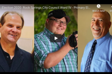 Election 2020: Rock Springs City Council Ward IV – Primary Election Forum