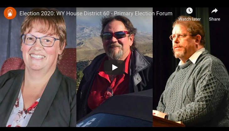 Election 2020: WY House District 60 – Primary Election Forum