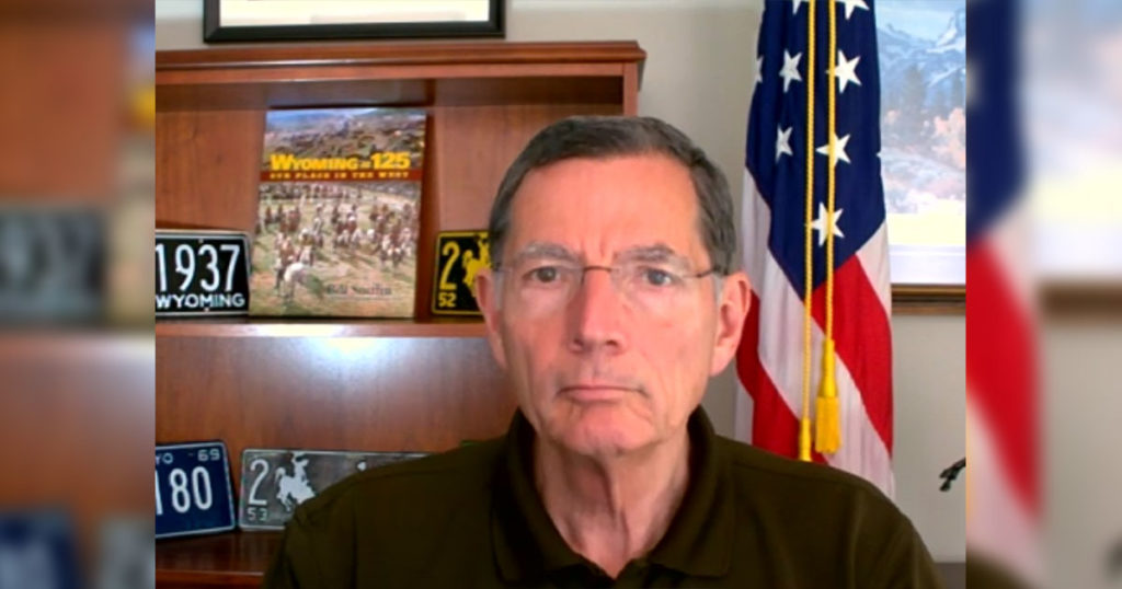 U.S. Senator John Barrasso Addresses Funding, COVID-19 Concerns