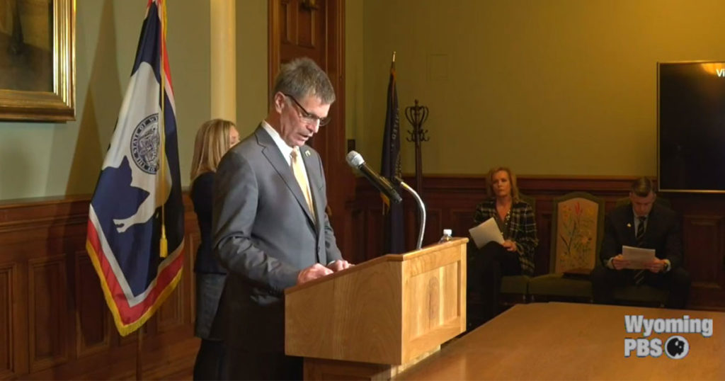 Governor Gordon to Hold Media Briefing on August 5