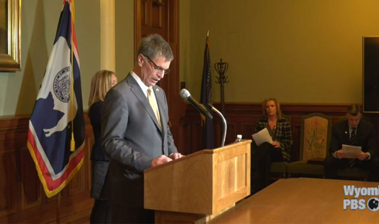 Governor Gordon to Discuss State Budget, COVID-19 on Wednesday