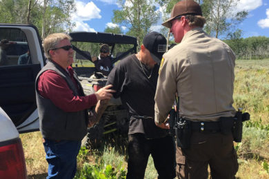 Suspect Arrested in Uinta County After Two-Day Search