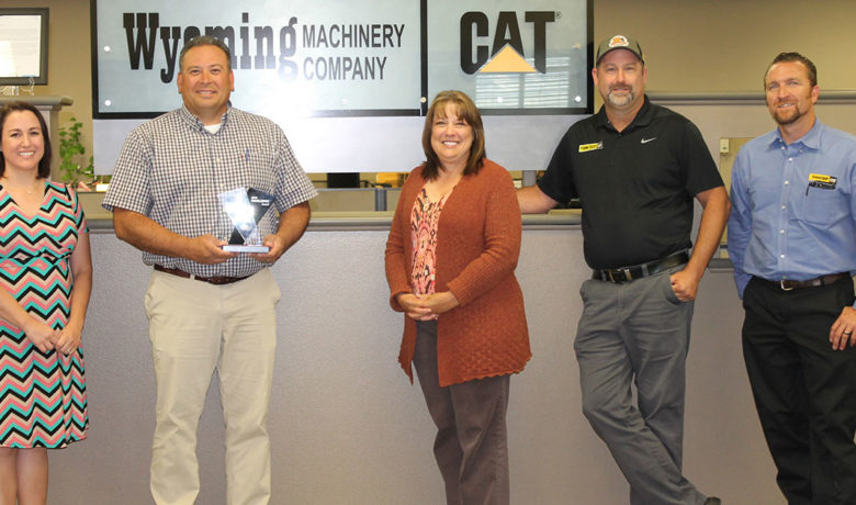 United Way Honors Wyoming Machinery with Excellence Award