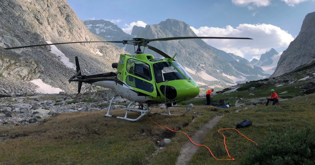 Hiker Suffers Serious Injuries in Wind River Mountains Accident