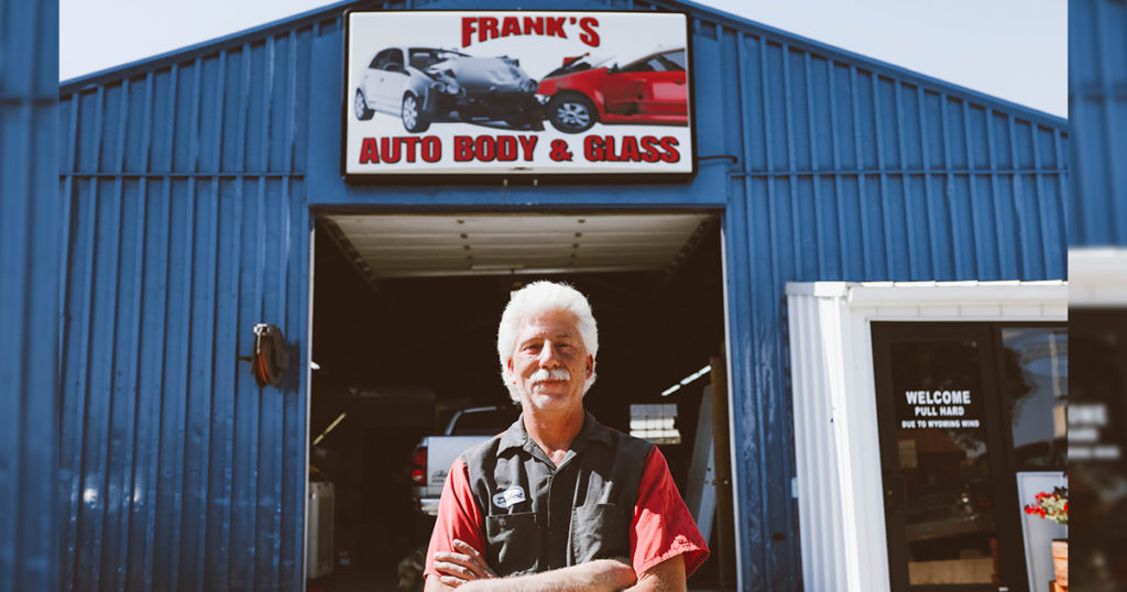 #HOMETOWN HUSTLE: Delbert Poll | Frank's Auto Body & Glass