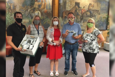 Genesis Alkali Donates PPE to Rock Springs High School and Jr. High and Farson High School