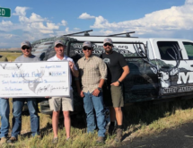 Dry Piney Wildlife Crossing Project Receives $20,500 Donation From Muley Fanatic Foundation