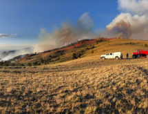 No Fire Growth Reported on Bradley Fire; Evacuations Lifted