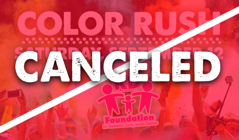 13th Annual KD Foundation Color Rush Fundraiser Canceled