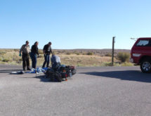 Motorcycle Chase Extends into Sweetwater County, Ends in Crash and Arrest