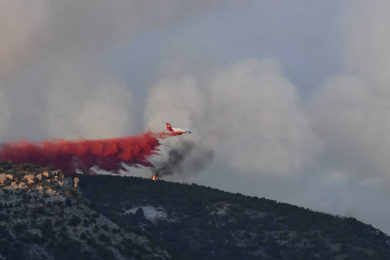 Firefighting Resources Increasing on Richard Mountain Fire; Remains Zero Percent Contained