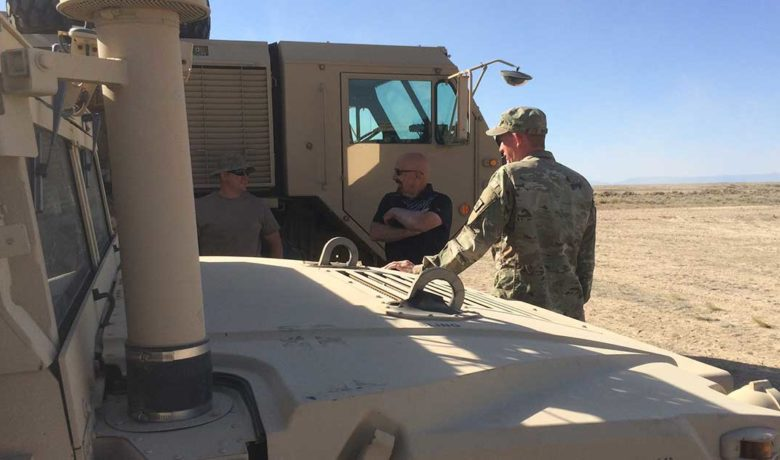 Wyoming National Guard Completes Projects at Spaceport