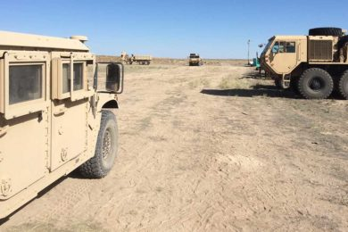 Green River to Consider Applying for More National Guard Training at Spaceport