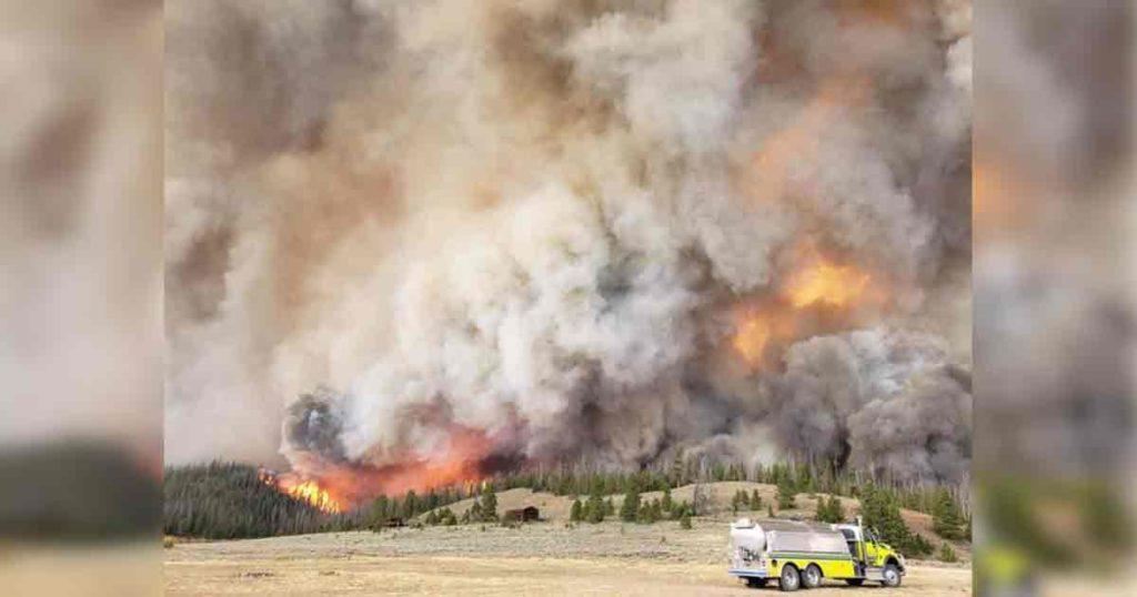 Mullen Fire Now 35,810 Acres, 426 Firefighters On Scene
