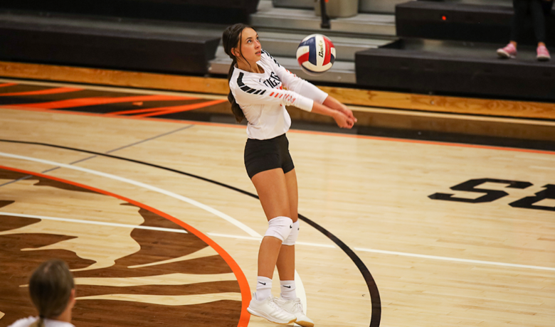 Lady Tigers Outlast Evanston in Five Sets