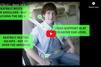 How Does A FREE 55″ Smart TV Sound? – Learn Booster Seat Safety & WIN!
