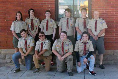 Eagle Scout Troop No. 70 Named Rock Springs URA Volunteers of the Month