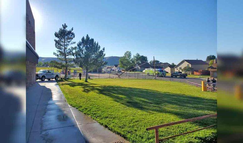 Truck Runs into Truman Elementary School Thursday Evening