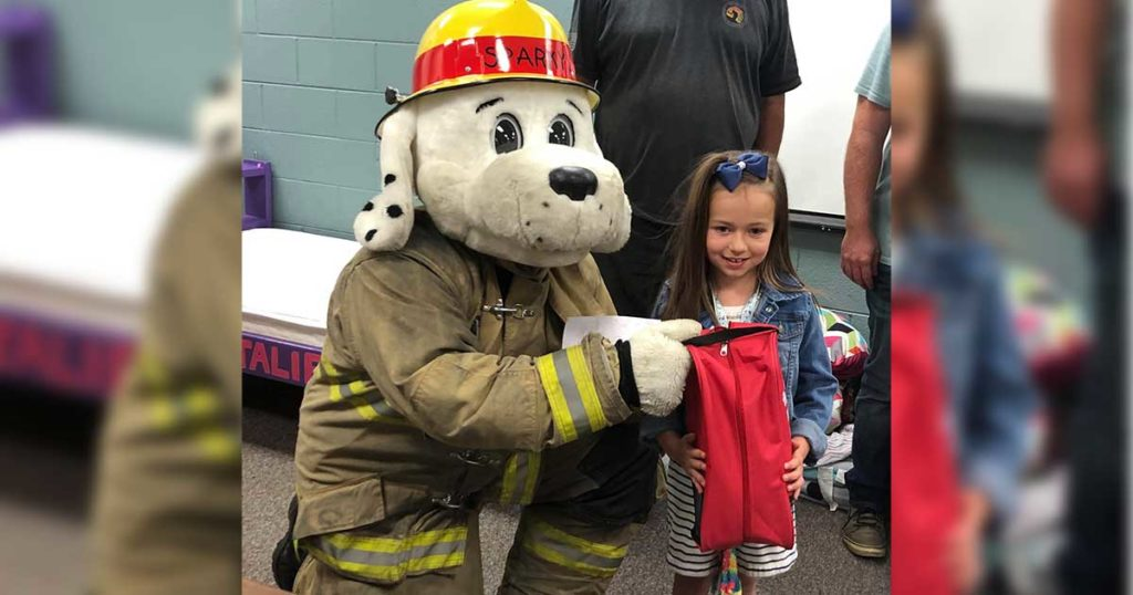 Green River Girl Thanks Emergency Personnel for Birthday Surprise