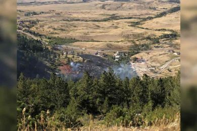 (Photo Gallery) County Fire Warden: Garden Creek Fire near Casper Contained Saturday