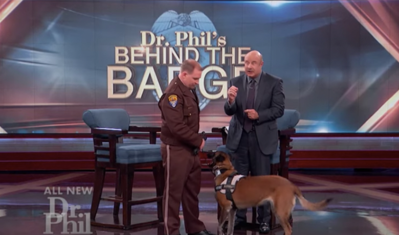 WATCH: Sweetwater County Deputy and K9 Showcase Tracking Skills on Dr. Phil