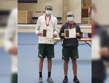 Wolves' Cordova, Friel, Win Championship at State Tennis