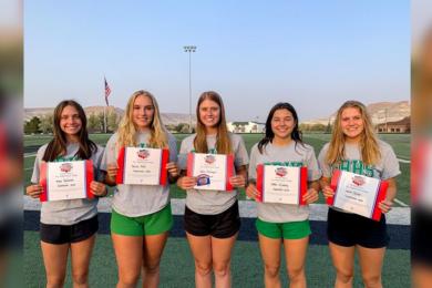 Five GRHS Cheerleaders Earn National All-American Honors