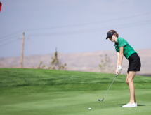Lady Wolves Swing Into Third at State Golf